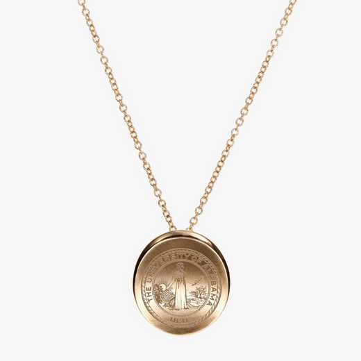 AL0113: Cavan Gold Alabama Organic Necklace by KYLE CAVAN